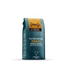 Καφές Dimello Filter Brazil Αλεσμένος 250gr