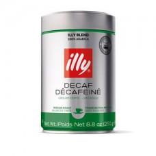 Καφές illy αλεσμένος decaf 250gr