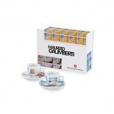 Σέτ Δώρου M. Galimberti 2 espresso cups