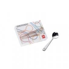 Συσκευασία 6 κουταλάκια girotondo illy μικρά