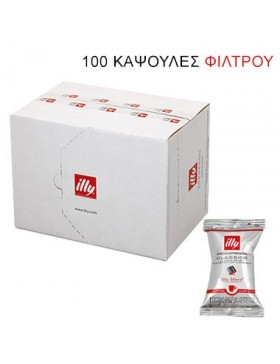 filter illy classico (normal)  iperespresso flowpack  100 κάψουλες