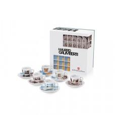 Σέτ Δώρου M. Galiverti 6 espresso cups