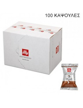 illy brazil iperespresso single flowpack arabica selection 100 κάψουλες