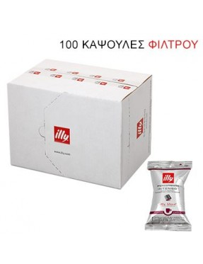 filter Illy intenso (scuro) iperespresso flowpack 100 κάψουλες