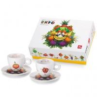 Σέτ Δώρου illy Mascotte Expo 2 cappuccino-orange apple